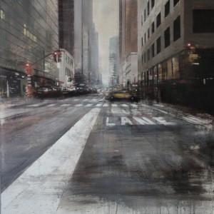 100x100 cms. Oil on panel