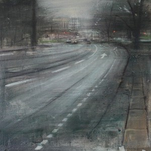Goteborg 1. 60x60 cms. Oil on panel