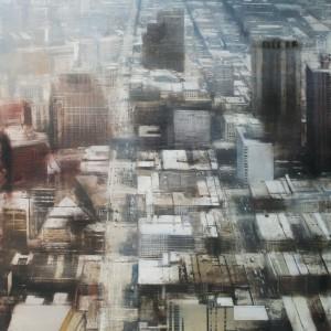 New York.180 x 120 cms