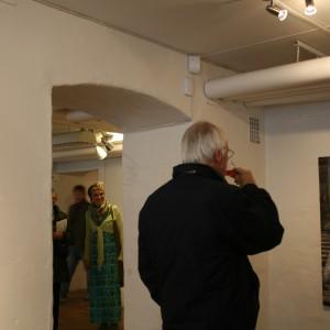 Exposición individual. Galleri Backlund. Göteborg. Suecia. 2014