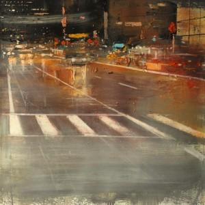 Park Avenue. 65x65 cms